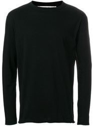 Damir Doma Crew Neck Jumper Black