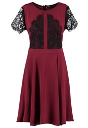Dorothy Perkins Summer Dress Red Bordeaux