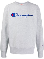 Champion Embroidered Logo Jumper 60