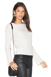 360 Sweater Eugenie Bell Sleeve Ivory