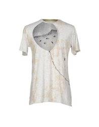Malph T Shirts Light Grey
