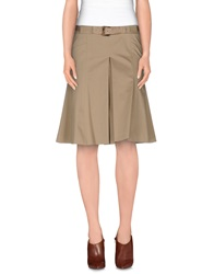 Alviero Martini 1A Classe Knee Length Skirts