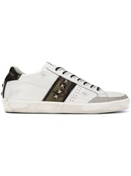 Leather Crown M Iconic 017 Sneakers White