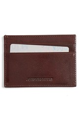 Men's Johnston And Murphy Leather Card Case