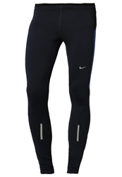 Nike Performance Element Thermal Tights Obsidian Game Royal Matte Silver Blue