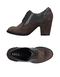 Luca Stefani Lace Up Shoes Lead