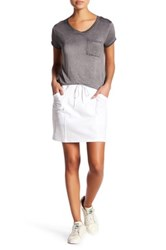 Cable And Gauge Solid Skort Petite White