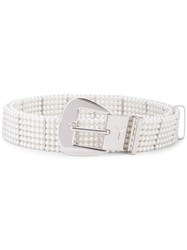 Y Project Pearl Belt White