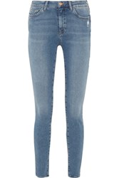 Mih Jeans M.I.H Bodycon Mid Rise Skinny Mid Denim