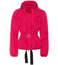 Moncler Gamme Rouge Antonia Hooded Jacket Red