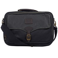 Barbour Defender Briefcase Black Sage