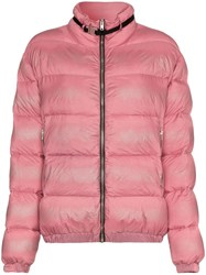 1017 Alyx 9Sm Buckle Embellished Feather Down Padded Jacket Pink