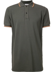 Tomas Maier Piquet Polo Shirt Green