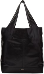 Givenchy Black Leather Tote Bag