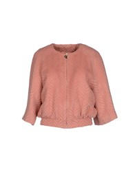 Betty Blue Coats And Jackets Jackets Women Pink