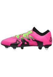 Adidas Performance X 15.1 Sg Football Boots Shock Pink Solar Green Core Black
