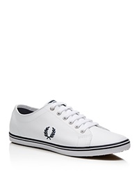 Fred Perry Kingston Leather Sneakers White Navy