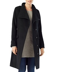 Phase Eight Donnalyn Wrap Neck Coat Black