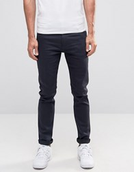 Weekday Friday Skinny Jeans Blue Black Monochrome Blue Black