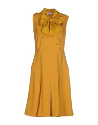 Ports 1961 Dresses Knee Length Dresses Women Ochre