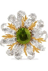 Buccellati 18 Karat Yellow And White Gold