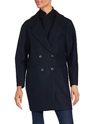 O'2nd Double Breasted Peacoat Navy