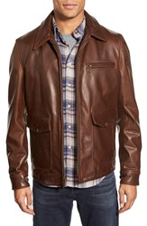 Men's Schott Nyc 'Sunset' Leather Jacket