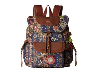 Sakroots Artist Circle Flap Backpack Midnight Spirit Desert Backpack Bags Multi