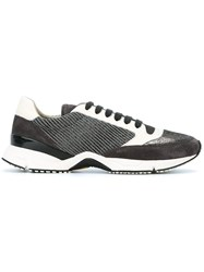 Brunello Cucinelli Embellished Sneakers Grey