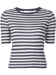 Vince Marine Knitted Top Blue