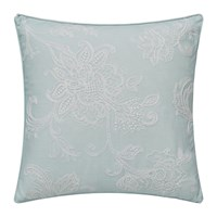 Sanderson Delphiniums Embroidered Cushion Mint 40X40cm