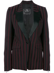 Unconditional Perfect Striped Jacket Black
