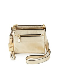 Kenneth Cole Morning Side Crossbody Gold