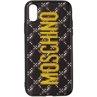 Moschino Black The Sims Edition Quilted Iphone Xs X Case