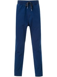 Ymc 'Panel Skate' Trousers Blue