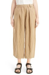 Yohji Yamamoto Women's Y's By Bottom Dart Wide Leg Pants