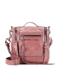 Mcq By Alexander Mcqueen Leather Shoulder Bag Pink