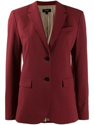 Theory Classic Fitted Blazer Red