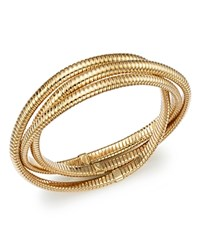 Bloomingdale's Triple Tubogas Bracelet In 14K Yellow Gold 100 Exclusive