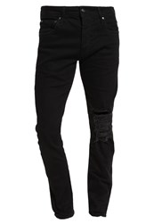 Jack And Jones Jjiglenn Jjoriginal Slim Fit Jeans Black Denim