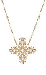 Stone Women's Yesterday Necklace Gold