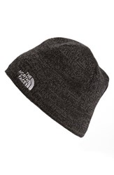 The North Face Men's 'Jim' Beanie Black Tnf Black Heather
