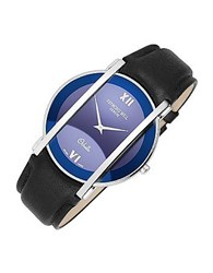 Raymond Weil Othello Men's Stainless Steel And Leather Watch Blue
