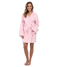 P.J. Salvage Pink Robe W Rhinestone Lily Applique Pink Women's Robe