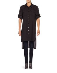 Calvin Klein Long Sleeve Tunic Black