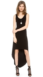 Norma Kamali Kamali Kulture Sleeveless Tank Dress Black