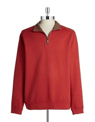 Tommy Bahama Reversible Zip Up Pullover Fireworks