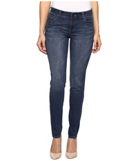 Kut From The Kloth Diana Skinny In Moderation Moderation Dark Stone Base Wash Women's Jeans Blue