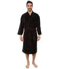 Jockey Terry Velour Solid Robe Black Men's Robe
