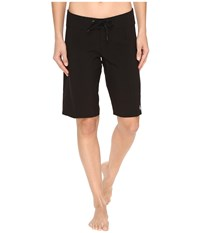 Volcom Simply Solid 11 Boardshorts Black Women's Swimwear